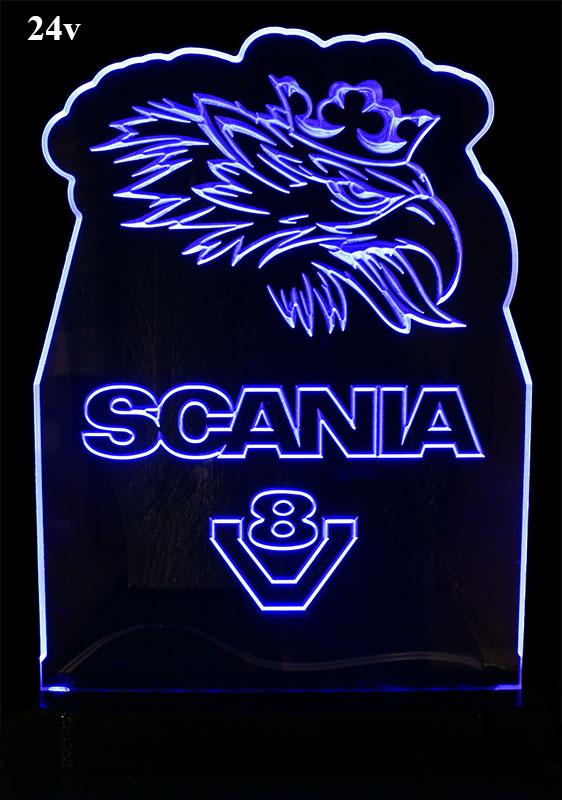 how to make a scania led light board